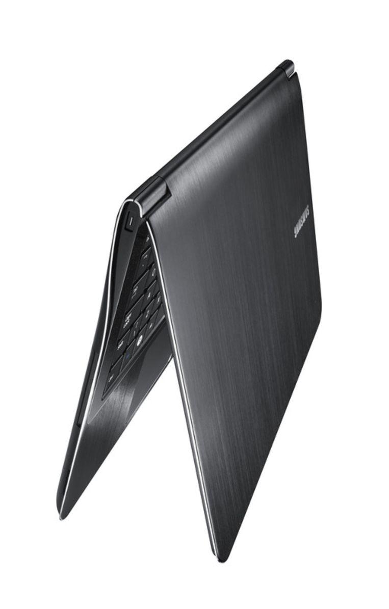 De Samsung 9 met 13 inch beeldscherm. Beeld