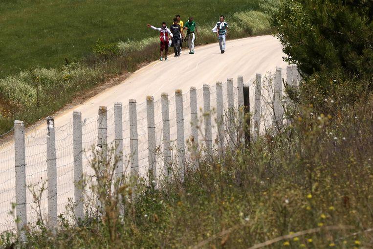 Volgens officiële cijfers kwamen via die route 12.000 migranten Griekenland in