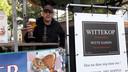 Huub  van Dijk, winnaar van Brabants Lekkerste Bier met De Wittekop.
