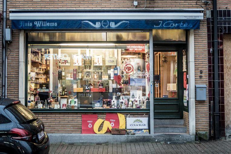 Huis Willems, de kleine tabakswinkel in de Sint-Amandsstraat.