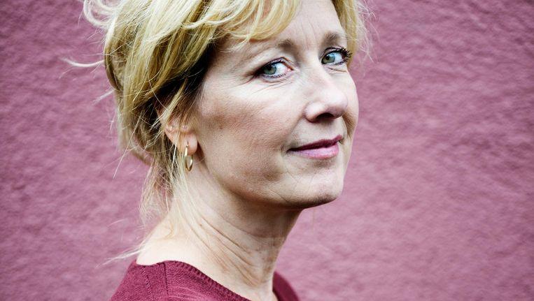 Ariane Schluter: 'Weggaan bij het Nationale Toneel heeft zo bevrijdend gewerkt.' Beeld Ernst Coppejans