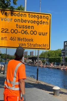 Overlast aan de Piushaven, gemeente stelt in de avonduren verblijfsverbod in: 'Kleine groep verziekt het voor de rest'