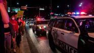 Agent in hoofd geschoten bij protest Las Vegas