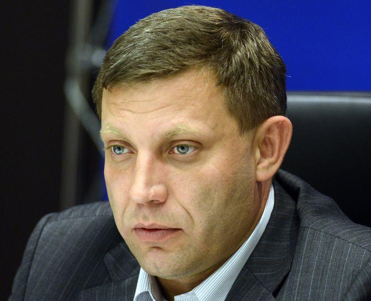 Aleksandr Zachartsjenko. Beeld AFP