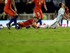Messi houdt Argentinië op WK-koers na strafschop tegen Chili