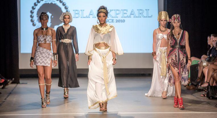 Africa Fashion Week. Beeld George Alexandre