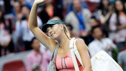 """Maria Sharapova (32) stopt: """"Ik gaf mijn leven aan tennis en tennis gaf mij een leven"""""""