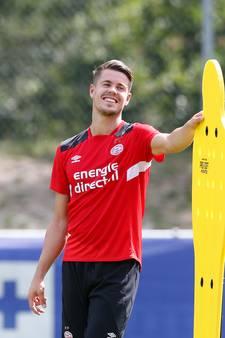 Van Ginkel begint aan derde flex-contract bij PSV: 'Het is prettig er een keer vanaf het begin bij te zijn'