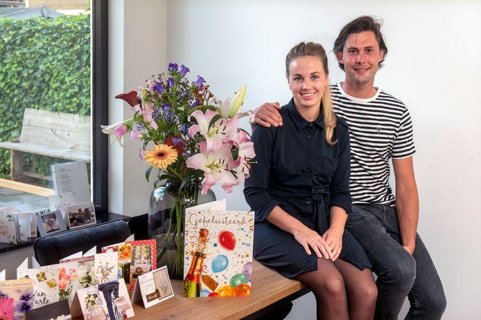 """Niels en Jacolien Mauritz zijn onlangs getrouwd. ,,Achteraf denk je: we hadden beter een goedkopere dag uit kunnen kiezen."""""""
