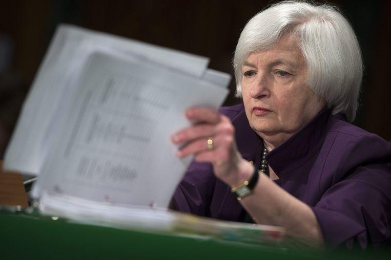 Voorzitter van de Federal Reserve, de koepel van Amerikaanse centrale banken. Beeld epa