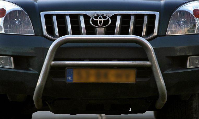 Het neusje van een Toyota. Beeld anp