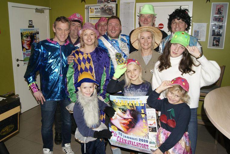 Ysebaert Event Team staat opnieuw garant voor de organisatie van carnaval in Zwalm.