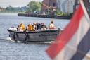 Per boot over de Vecht en het Zwartewater naar Hasselt, zo sloeg Thomas a Kempis en zijn volgelingen  op de vlucht.