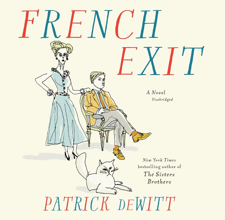 Patrick deWitt: French Exit Beeld