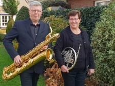 Kerstconcert van fanfare St. Lucia en Imémato in De Mortel
