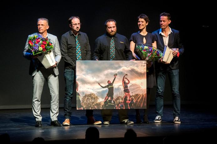 De uitreiking van de Arnhemse sportprijzen in het Stadstheater.