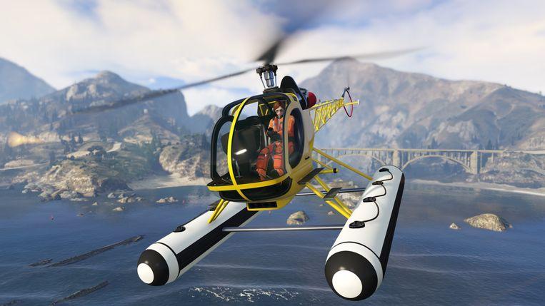 'Grand Theft Auto Online', een onderdeel van 'Grand Theft Auto V'.