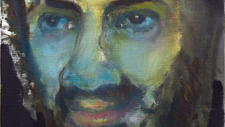Detail van Osama, 2010, Olieverf op doek, 50 x 40 cm, van Marlene Dumas. Beeld ANP Communique