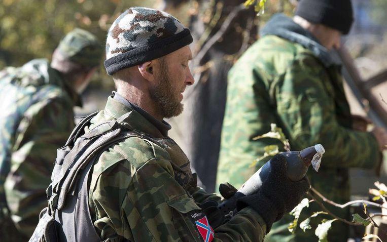 Pro-Russische separatist. Beeld afp