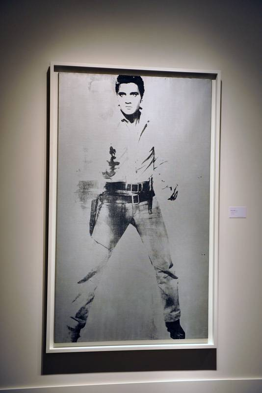'Double Elvis' van Andy Warhol.