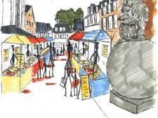Weekmarkt Lichtenvoorde viert nieuwe plek met muziek en knutselmiddag