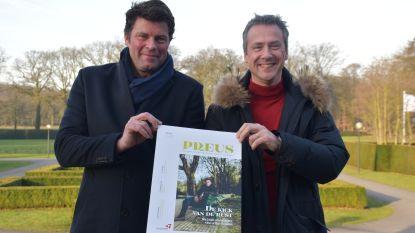 Wim Lybaert promoot provincie in nieuw West-Vlaams magazine Preus