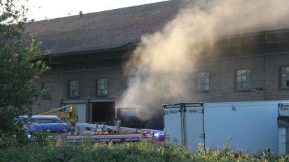 Voor tweede keer dit jaar brand bij Eurofat in Moen
