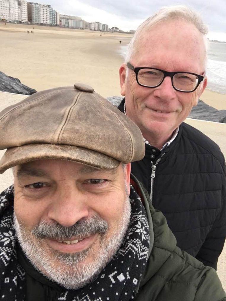 Amper enkele dagen voordat Werner Van Branteghem voor palliatieve sedatie koos, stapte hij nog in het huwelijksbootje met z'n levenspartner Rik Bossu.
