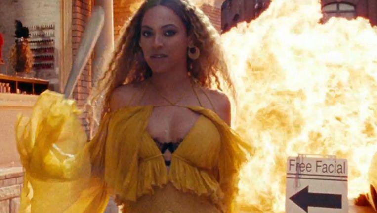 Still uit een van de videoclips van Lemonade. Beeld null