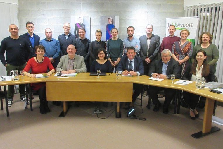 De nieuwe gemeenteraad van Bekkevoort