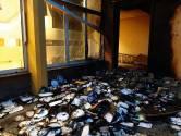 Brand bij school IKC Regenboog in Oss door aangestoken papier in winkelkarretje, kinderen kunnen gewoon naar school