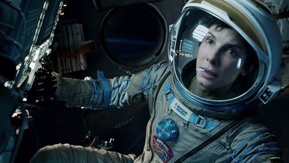 Sandra Bullock in 'Gravity'.