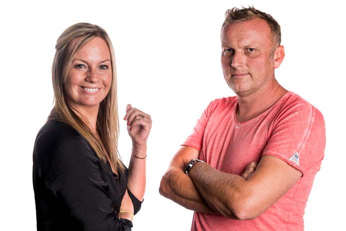 Fardau Wagenaar en Leon ten Voorde