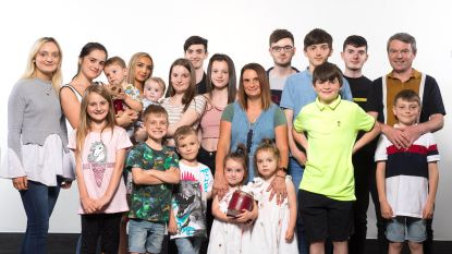 De vruchtbaarste familie van Groot-Brittannië