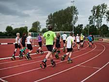 Lopen op 'springschoenen' bij atletiekvereniging