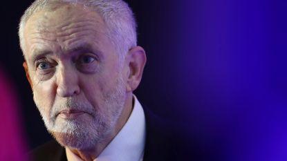 """Britse politicus Corbyn drukt berichten dat hij spion was de kop in: """"Onzin"""""""