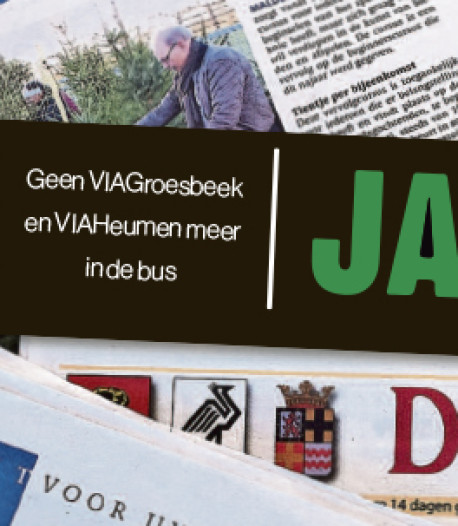 Huis-aan-huisbladen VIAGroesbeek en VIAHeumen stoppen ermee