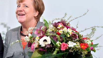 Merkel mag het een laatste keer 'schaffen'