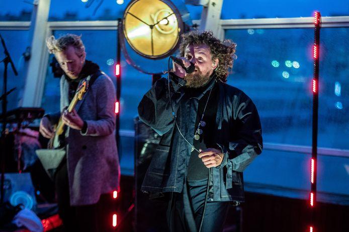 DI-RECT tijdens de livestream in juli vanaf de Pier in Scheveningen.