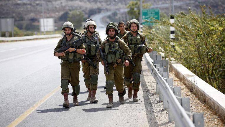 Israëlische soldaten Beeld epa