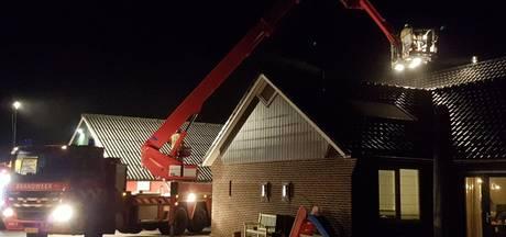 Brandweer rukt uit voor schoorsteenbrand in Geesteren