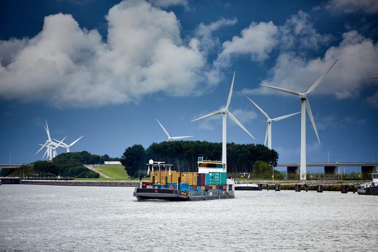Voor de binnenvaart bestaan doelen om milieuvriendelijker te gaan werken.  Beeld Phil Nijhuis