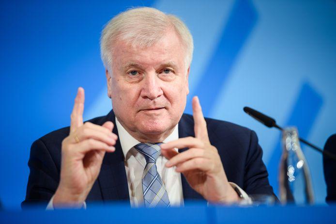 Minister van Binnenlandse Zaken Horst Seehofer