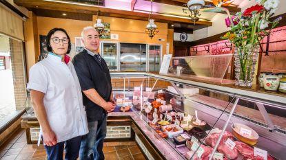"""Laatste dag voor slagerskoppel Geert (60) en Marleen (58): """"Maar blij dat onze zaak blijft bestaan"""""""