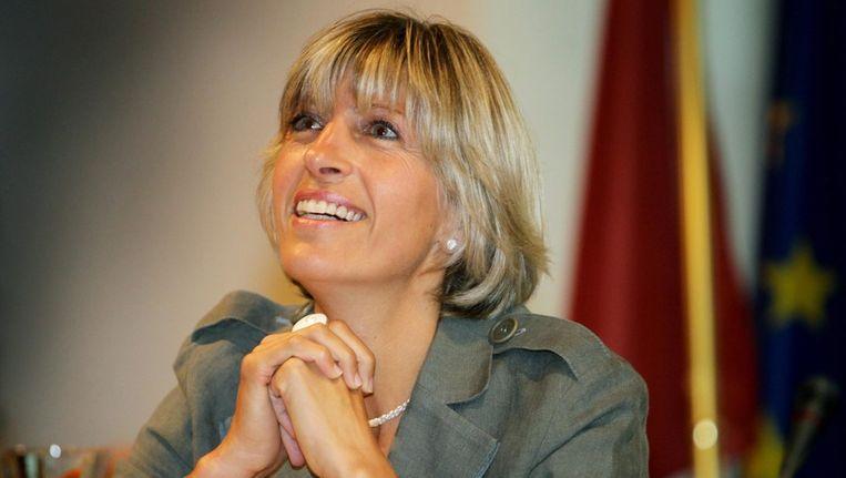 Burgemeester Ilse Uyttersprot. Beeld null