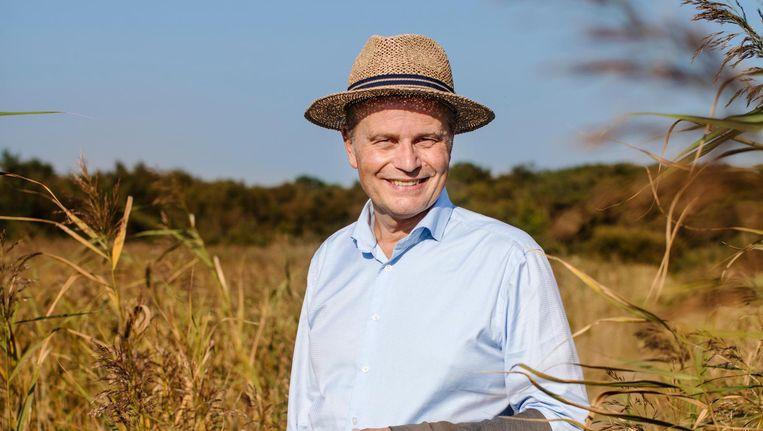 Willem Ferwerda is de meest invloedrijke duurzame Nederlander van 2016. Beeld Lars van den Brink
