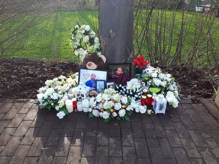 Oscar Avila overleed op deze plaats op de Brusselbaan, vlakbij het kruispunt met Koudenberg.