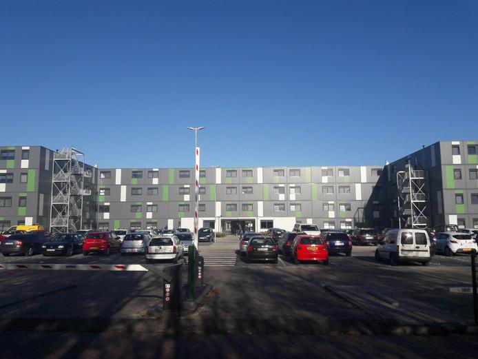 De campus voor arbeidsmigranten in Waalwijk.