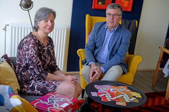 Marie-Josée Eenkhoorn en Ben van der Weide van het zelfregieteam, willen meer aandacht voor naasten van personen met onbegrepen gedrag.