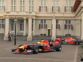 Dit keer geen koetsen, maar supersnelle F1-wagens voor Paleis Noordeinde